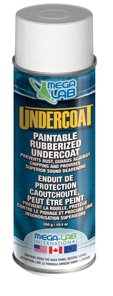 UNDERCOAT-can paintable rubberized undercoat
