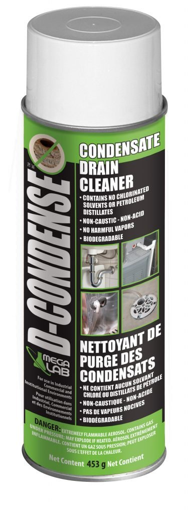 D-CONDENSE can condensate drain cleaner