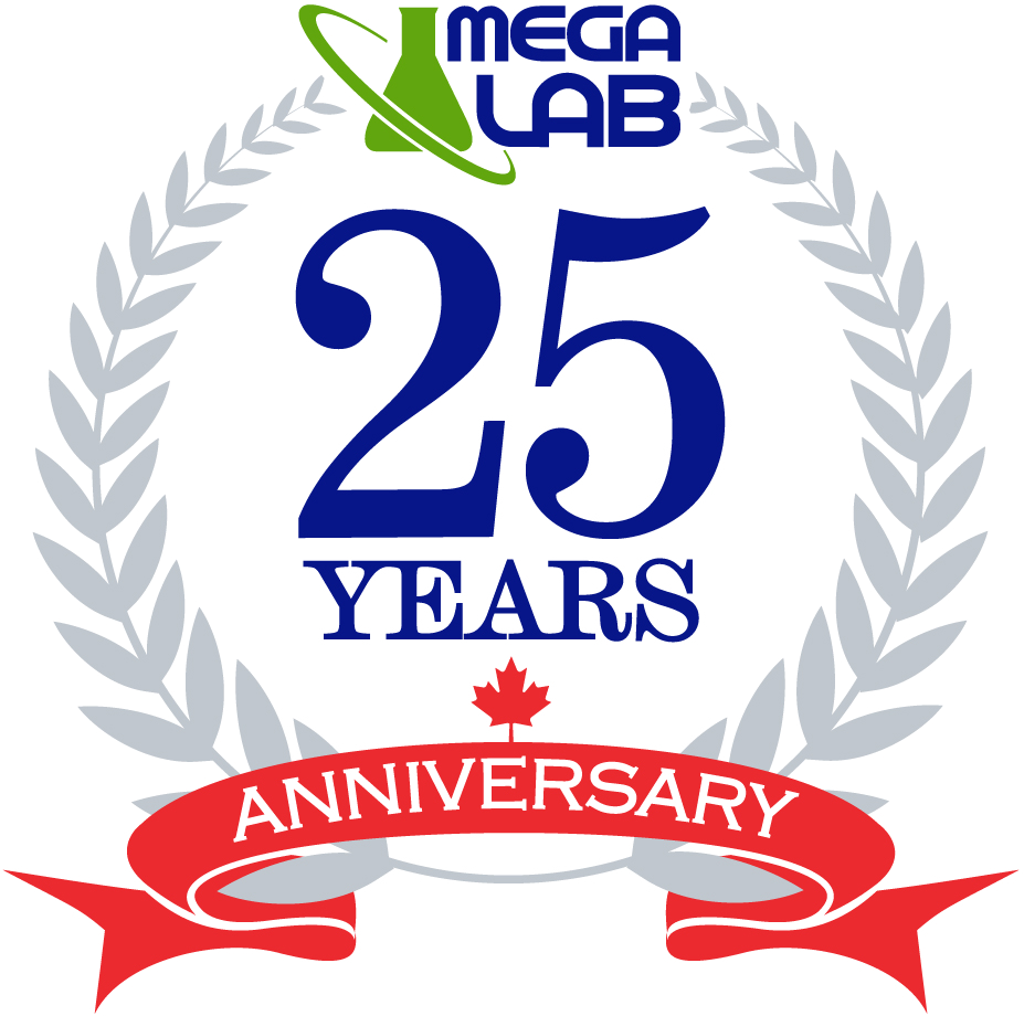 mega-lab 25 years in the industry