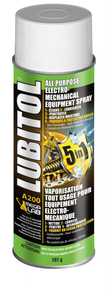 lubitol all purpose electro-mechanical equipment spray